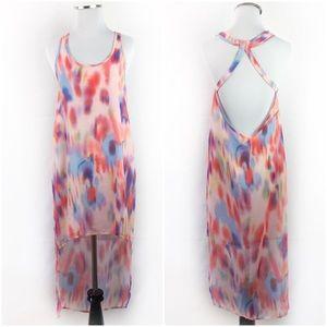 LF Millau Watercool Hi-Lo Dress Swim Coverup